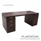 Madison Desk, Macassar