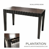Seville Scalloped Desk
