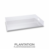 Doral Lucite Tray | Rectangle