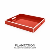 Lacquer Tray | Bright Red