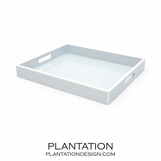 Lacquer Tray | Icy Blue