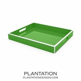 Lacquer Tray | Kelly Green