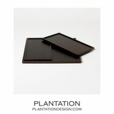 Lucas Tray Set | Chocolate