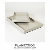 Ming Trays | Light Grey