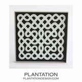 Tangle Lacquered Tray | Square