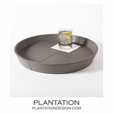 Garda Round Trays | Grey