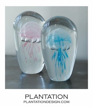 Jellies Glass Objects | Pink & Blue