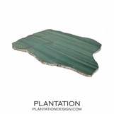 Stone Slab Tray | Green Quartz