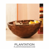 Napa Ceramic Bowl | Bronze