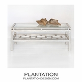 Paris Coffee Table | Warm Silver