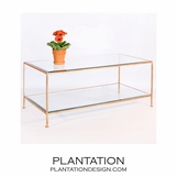 Petra Coffee Table | Gold