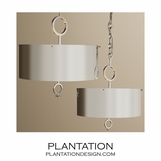 Brilliant Polished Nickel Pendants