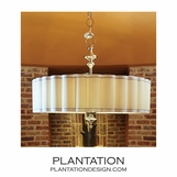 Charleston Nickel Pendant | Extra Wide