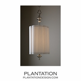 Charleston Nickel Pendant | Large