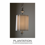 Charleston Nickel Pendant | Small