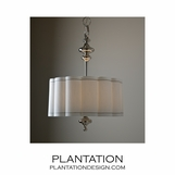 Charleston Nickel Pendant | Wide