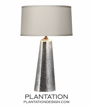 Glitz Mercury Glass Lamp