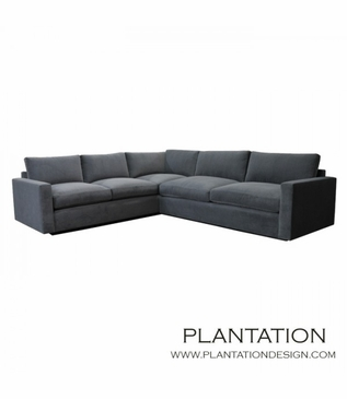 Arden Sectional w/Slim Arms