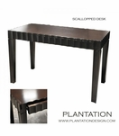 Scalloped Desk