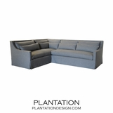 Grayson Sectional w/Skirted Apron