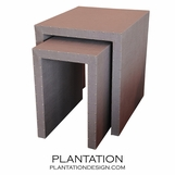 Waterfall Nesting Side Tables