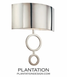 Davidson Sconce No. 2 | Nickel
