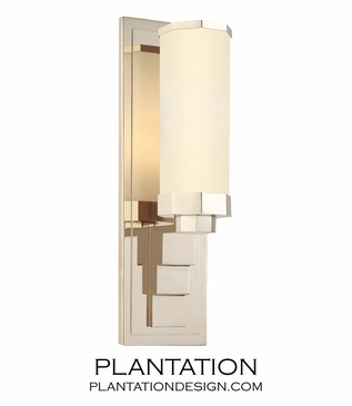 Suri Nickel Wall Sconce
