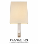 Karp Wall Sconce | Polished Nickel