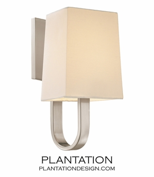 Karp Wall Sconce | Satin Nickel