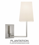 Atwood Sconce | Satin Nickel