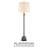 Stephen Floor Lamp | Antiqued Bronze