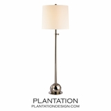 Stephen Floor Lamp | Polished Nickel