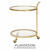 Reynolds Bar Cart | Gold