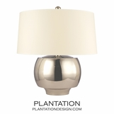Collins Table Lamp | Polished Nickel