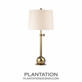 Stephen Table Lamp | Antiqued Brass