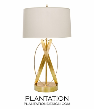 Brooklyn Table Lamp | Gold