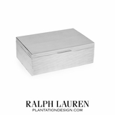 Stretton Silver Ribbed Box