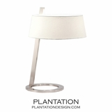 Martino Table Lamp | Satin Nickel