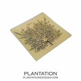 Tree Branches Decoupage Tray