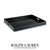 Adamson Black Lacquered Tray