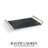 Kailey Nickel & Shagreen Tray