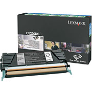 Lexmark C52220KS Black Toner Cartridge