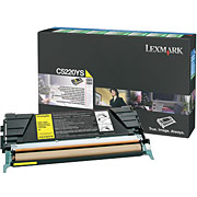 Lexmark C5220YS Yellow Toner cartridges