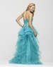 Clarisse Turquoise Strapless Ball Gown 2151