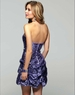 2012 Homecoming Clarisse 2024 Violet Sequin Dress