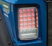 Yamaha Rhino Led Taillights Conversion With Reverse