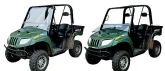 Quadboss Folding Windshield - Rhino / RZR / Prowler / Teryx / Mule / Big Red / Commander