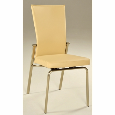 Chintaly - Molly Motion Back Side Chair Beige  Set of 2 - MOLLY-SC-BGE
