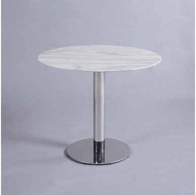 Chintaly - Noemi Dining Table in Jazz White - NOEMI-DT