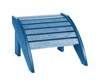 CR Plastic Products - Generations Footstool in Blue - F01-03
